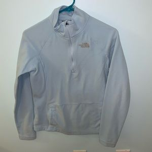 North Face Quarter Zip Jacket